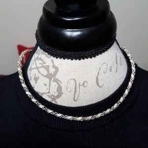 Jewelry - Sterling Silver Twist Collar Necklace